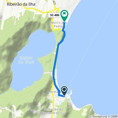 De Rua Fernando Beck, 85, Florianópolis a Rua Manoel Pedro Vieira, 550, Florianópolis