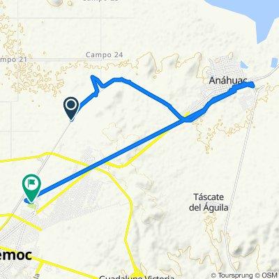 De Unnamed Road a Zaragoza 6734, Ciudad Cuauhtémoc