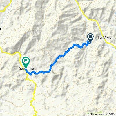 De Vía La Vega - Sasaima a Carrera 2a 8-06, Sasaima