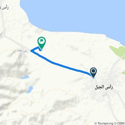 De Avenue Habib Bourguiba, Ras Jebel à Unnamed Road, Beni Atta