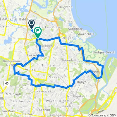 Cabbage bikeway loop