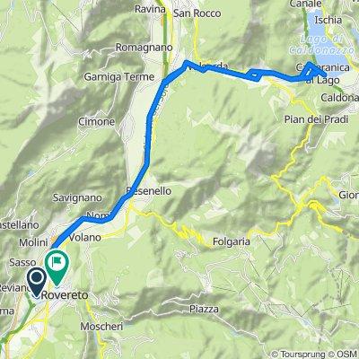 Da Via Passo Buole 392, Rovereto a Corso Antonio Rosmini 66, Rovereto