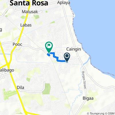 Santa Rosa to Unnamed Road, Santa Rosa