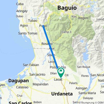 Binalonan - Dagupan Highway 13, Laoac to Binalonan - Dagupan Highway 13, Laoac
