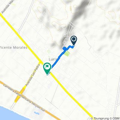 De Calle 21, Cercado de Lima a Lurín