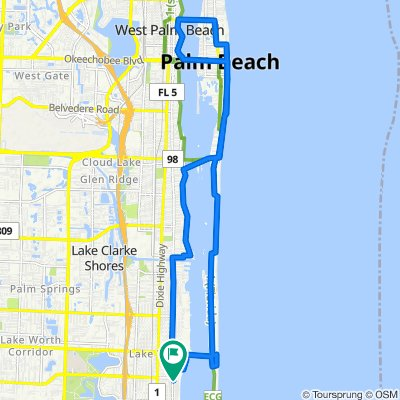 Easy ride in Lake Worth