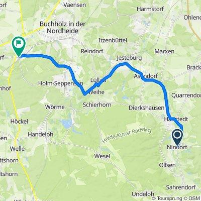 Nindorf - Seeve - Sprötze