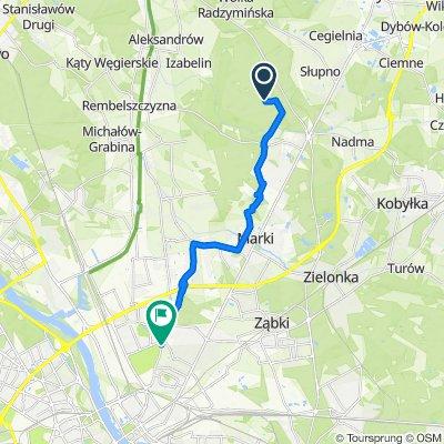 Unnamed Road, Słupno do Gilarska 55, Warszawa