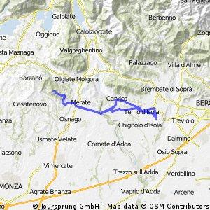 Bonate - Montevecchia