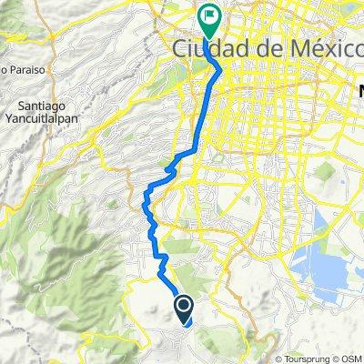 Ruta a Calle Lago Alberto 442, Ciudad de México