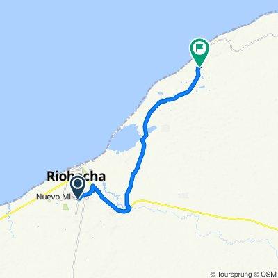 De Carrera 7b 4315, Riohacha a Vía Mayapo
