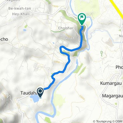 Route to F22, Patan