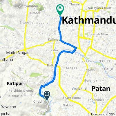 F22, Patan to Pushpalal Path, Kathmandu