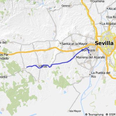 Sevilla PISA Mairena - Hinojos (Huelva) www.forociclismo.net