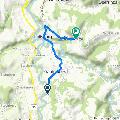 Loch 642, Ganterschwil nach Tufertschwil 52, Lütisburg