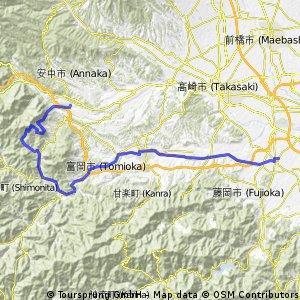 The Tomioka Silk Mill and Mt.Myougi