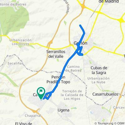 De Calle de Dulcinea, 1, Carranque a Calle de Dulcinea, 6, Carranque