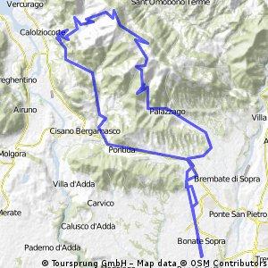Bonate Sopra - Valcava - Pertus