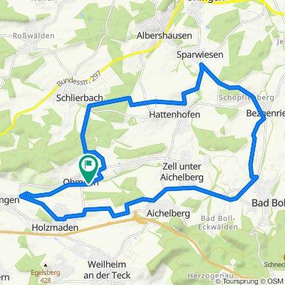 Boll, Bezgenriet, Sparwiesen, Schlierbach