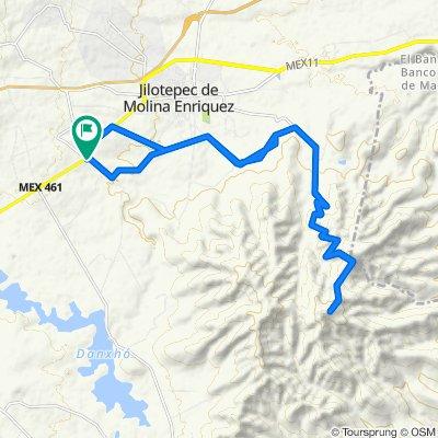 De Camino a Doxhichó, Jilotepec a Camino a Doxhichó, Jilotepec