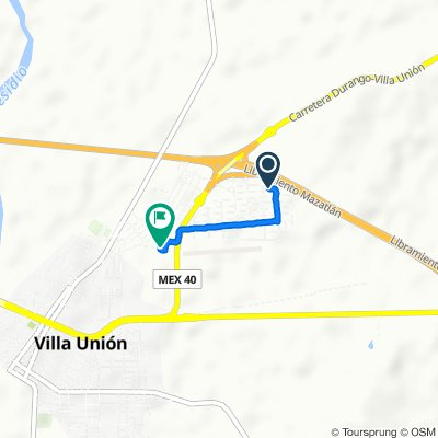 De 9 de Marzo, Villa Unión a Cerro Grande 337, Villa Unión