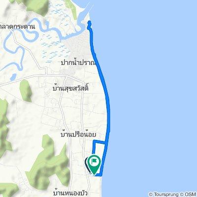 Pranburi coastline cruise