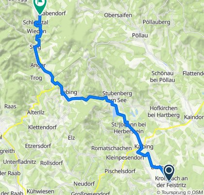 R8 Feistritztalradweg - Klammradeln -  Genussradel-Tour