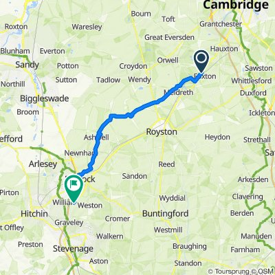 1 Cambridge Road, Cambridge do Jacks Hill, Graveley, Hitchin
