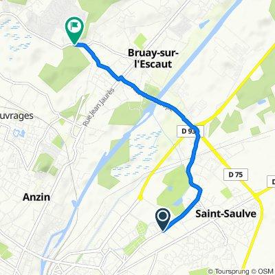 De 30 Rue Henri Barbusse, Saint-Saulve à 28–56 Rue Michel Brabant, Bruay-sur-l'Escaut