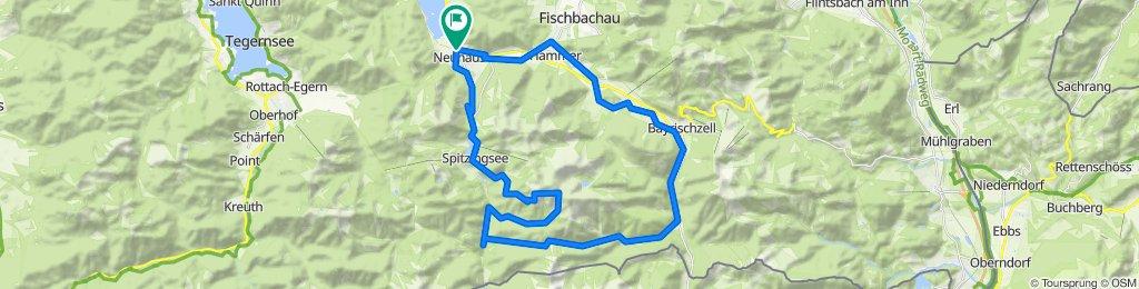MTB Schliersee Rotwandhaus – Ausblick Spitzingsee Runde von Schliersee