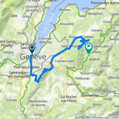 Genève — Boëge.