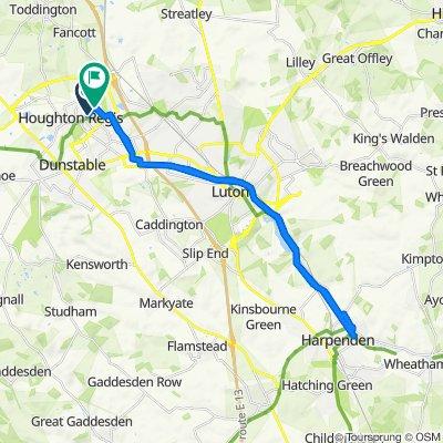 Vanbrugh Drive 6, Houghton Regis to Trident Drive 2, Houghton Regis