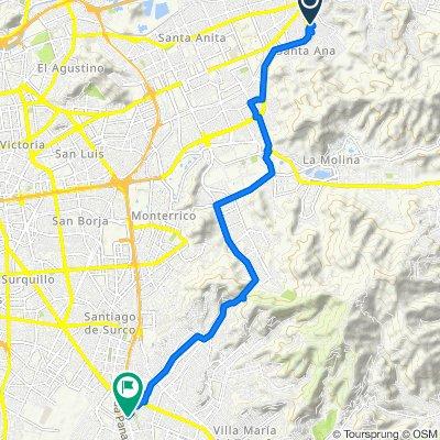De Las Brisas, Cercado de Lima a Talara 132, Cercado de Lima