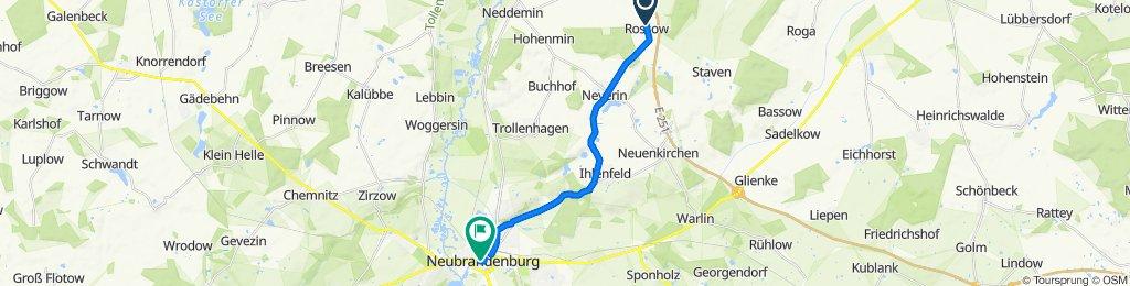 Dorfstraße 30, Staven nach Marktplatz 2, Neubrandenburg