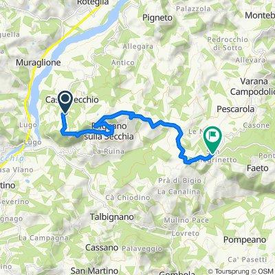 Da Via Sassuolo 1050, Prignano sulla Secchia a San Pellegrinetto