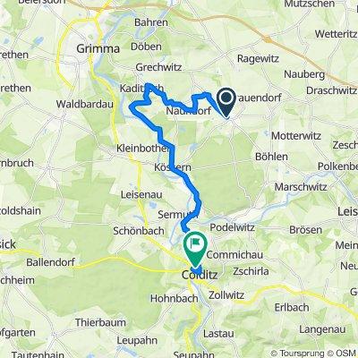 K8307, Grimma nach Forsthof 9, Colditz
