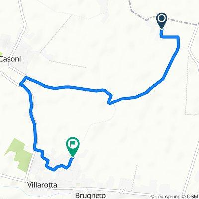 Da Via Vergari, Vergari Bassi a Via Giuseppe Mazzini 14, Villarotta