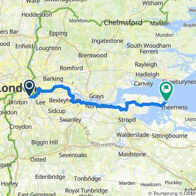 London to Grain (Scenic)