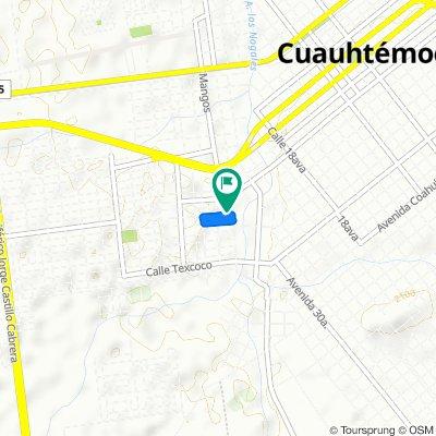 De Avenida Tlatelolco 3050, Cuauhtémoc a Avenida Tlatelolco 3248, Cuauhtémoc