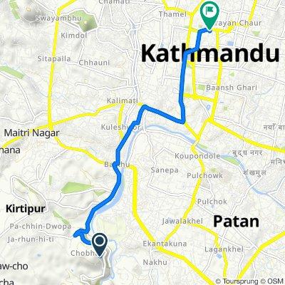 F22, Patan to Narayanhiti Path, Kathmandu