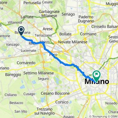 Bicipolitana linea 1: Rho- Milano