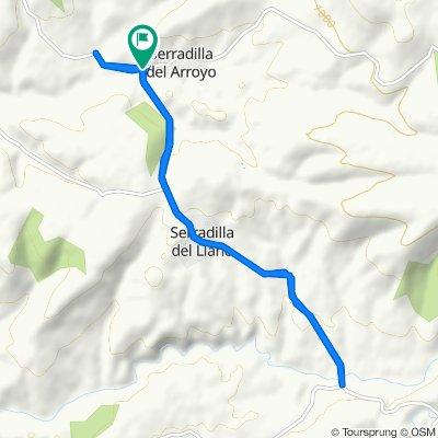 Serradilla del Arroyo Cycling