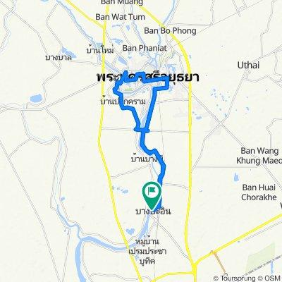 Ayutthaya - 45km Bang Pa-in Loop