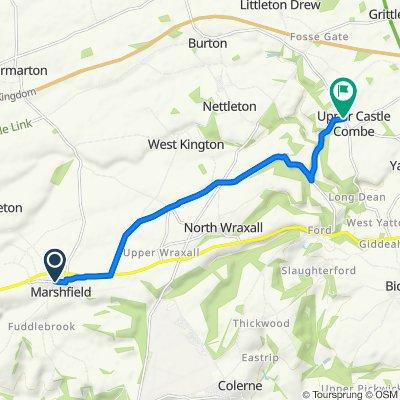 White Hart Cottage, Sheep Fair Lane, Chippenham to B4039, Upper Castle Combe, Chippenham
