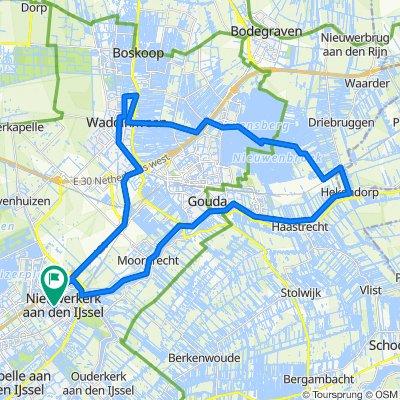 Stroopwafels uit de muur - Nieuwerkerk - Waddinxveen - Reeuwijk - Nieuwerkerk