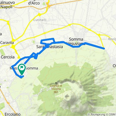 Da Rampa Aristea 7, San Sebastiano al Vesuvio a Rampa Leucadia 16–22, San Sebastiano al Vesuvio