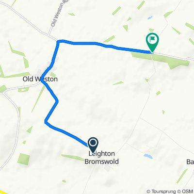 59 The Avenue, Huntingdon to 81–99 Leighton Road, Hamerton, Huntingdon