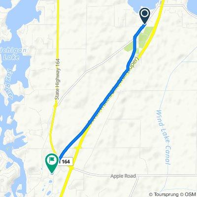 6764 S Loomis Rd, Waterford to 606B Cornerstone Crossing, Waterford