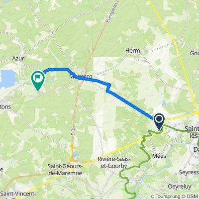 De 649 Chemin de Prentigarde, Saint-Paul-lès-Dax à 180 Maisonvieille, Soustons