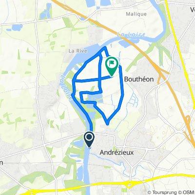 Andrézieux 10 km plat